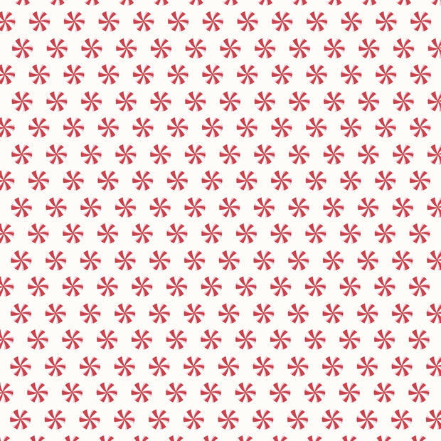 Peppermint Kisses 12 x 12 Scrapbook Paper - Wrapped Up