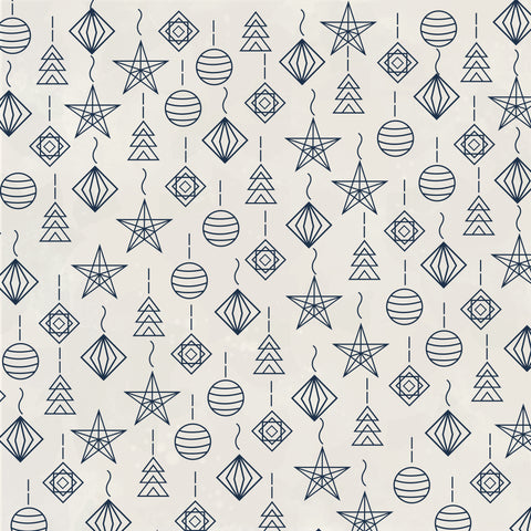 "Starry Night 12 x 12"" Scrapbook Paper - Striking"