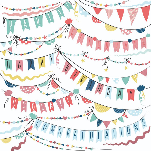 Oh Happy Day! 12 x 12 Scrapbook Paper - Garlands