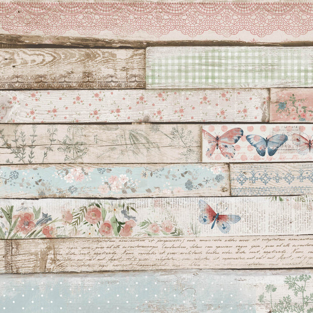 Flower Shoppe 12x12 Scrapbook Paper - Weatherboard
