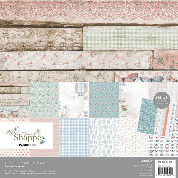 Flower Shoppe with Bonus Sticker Sheet