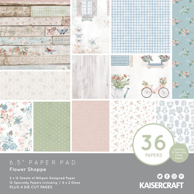 Flower Shoppe 6.5 Paper Pad