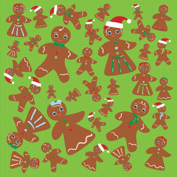 Santa's List - Gingerbread