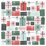 "Peppermint Kisses 12 x 12"" Scrapbook Paper - Wrapped Up"