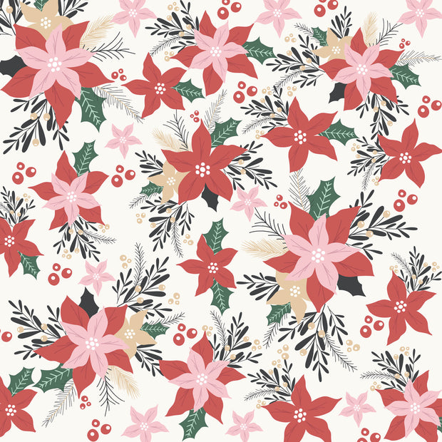 Peppermint Kisses 12 x 12 Scrapbook Paper - Fun & Festive