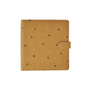 Large Planner - Tan with Embossed Spots