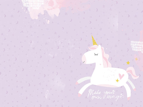 Printed D-Ring Album - Unicorn