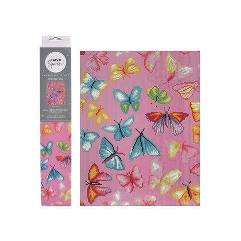 Kaiser Sparkle Kit 440x340mm - RAINBOW BUTTERFLIES