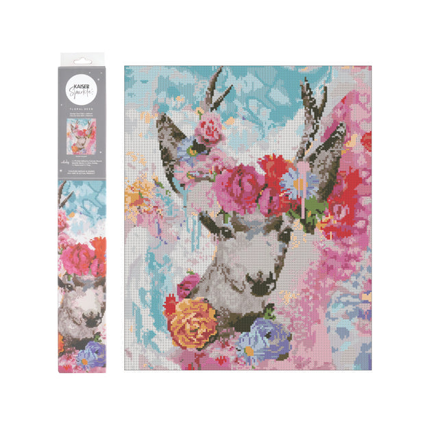 Kaiser Sparkle Kits 540X440mm - FLORAL DEER