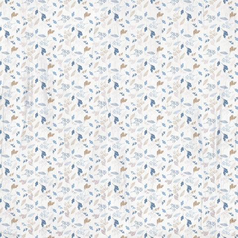 Whimsy Wishes 12x12 Scrapbook Paper - SILVER BIRCH