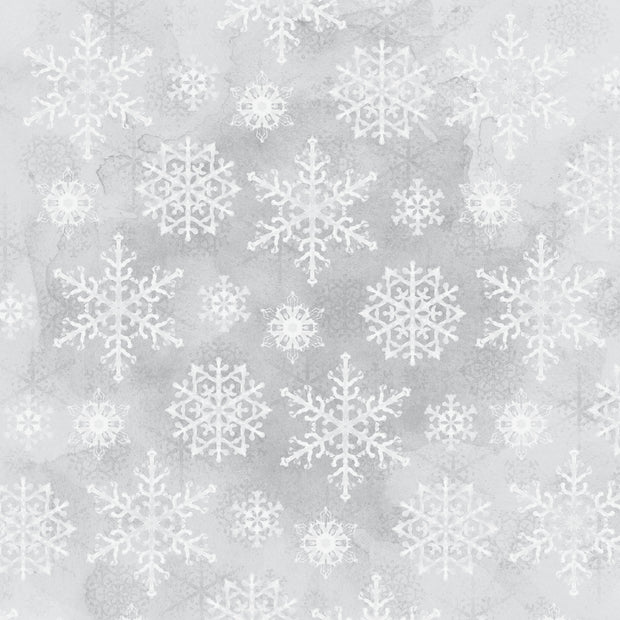 Whimsy Wishes 12x12 Scrapbook Paper - SNOWFALL