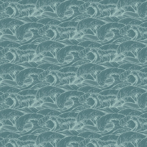 "Uncharted Waters 12 x 12"" Scrapbook Paper - Pelagic"