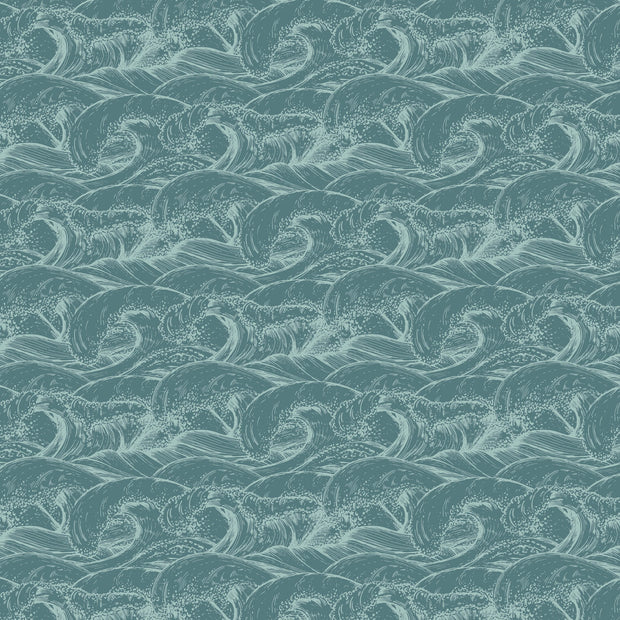 Uncharted Waters 12 x 12 Scrapbook Paper - Pelagic