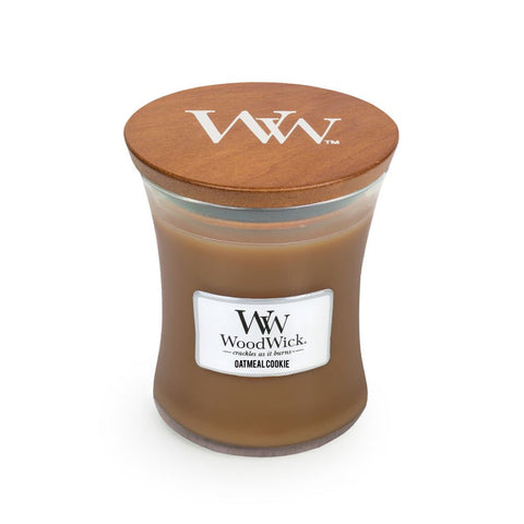 WoodWick Medium - Oatmeal Cookie