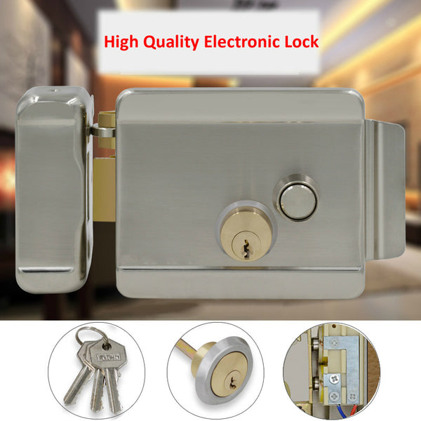 Electric Control Lock For Access Control Systems