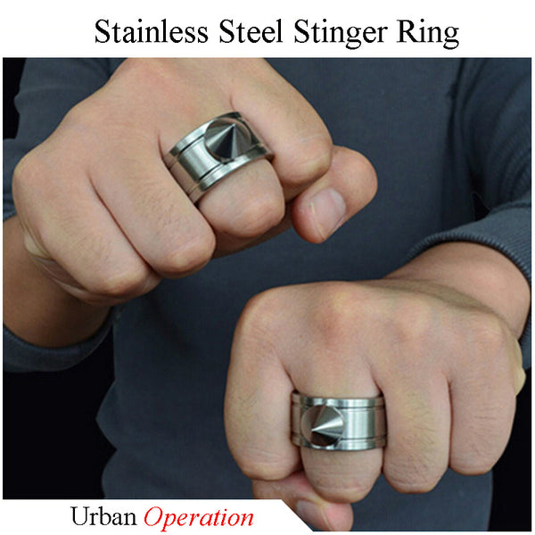 Stainless Steel Stinger Ring, Urban Operation