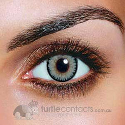 Dual Colour Grey Contact Lenses (90 Day)
