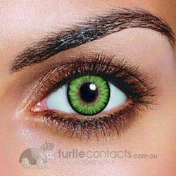 Dual Colour Green Contact Lenses (90 Day)