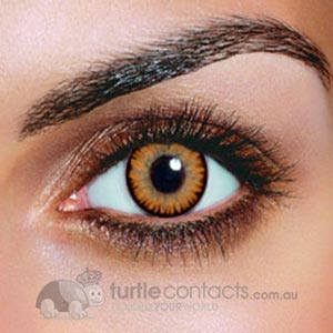 Dual Colour Hazel Contact Lenses (90 Day)