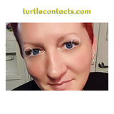 Dual Colour Aqua Contact Lenses (Pair)
