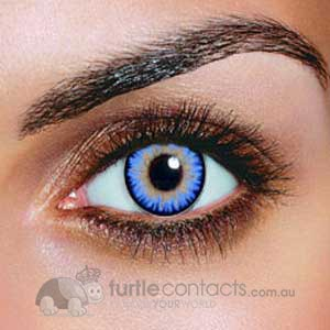Triple Colour Aqua Contact Lenses (90 Day)