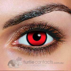 Red Manson Contact Lenses (90 Day)