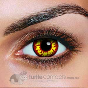Red Wolf Contact Lenses (90 Day)