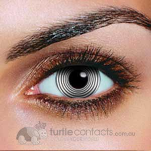 White Hypno Contact Lenses (90 Day)