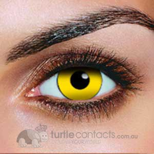 Yellow Out Contact Lenses (90 Day)