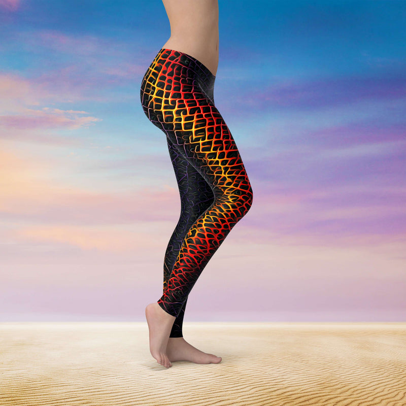 Spirit & Glitch:Forge Beast Leggings