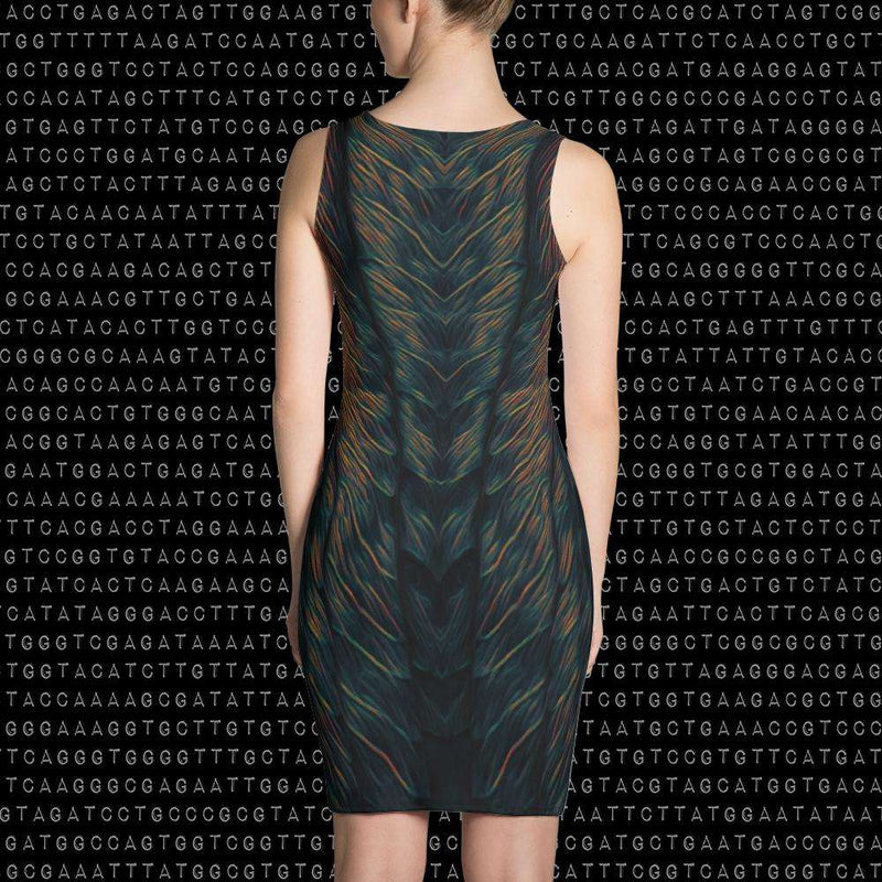 Spirit & Glitch:Liquid Midnight Dress
