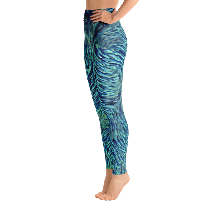 Anemone Night TOP SECRET YOGA PANTS