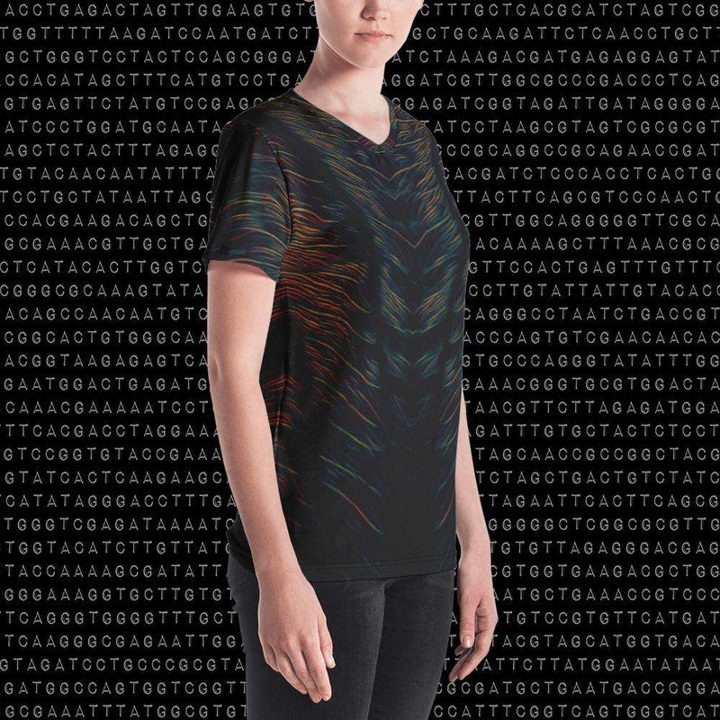 Spirit & Glitch:Liquid Midnight Womens Shirt
