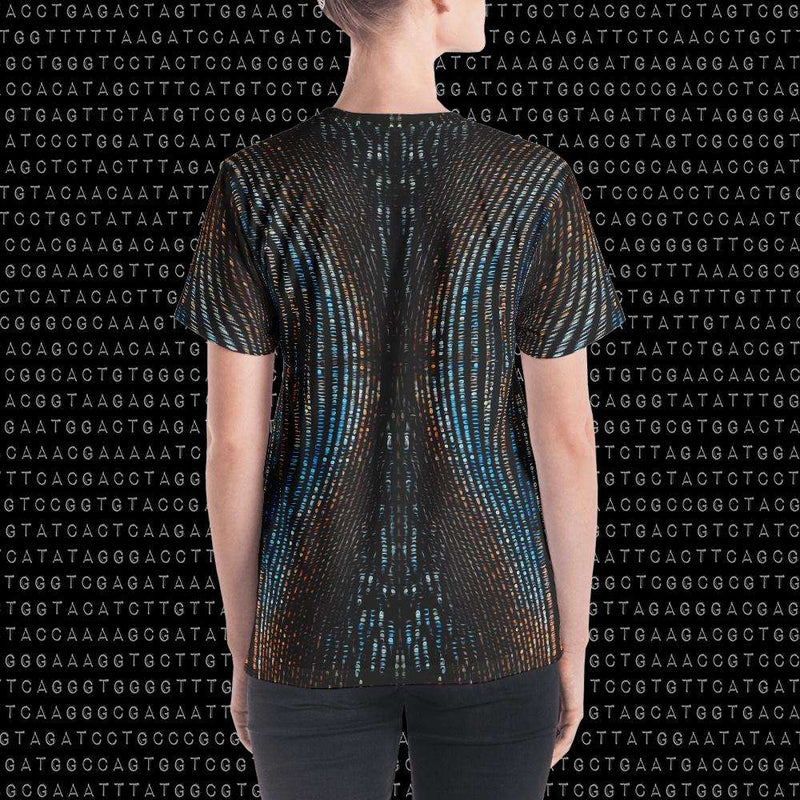 Spirit & Glitch:Technicolor Dreamcode Womens Shirt