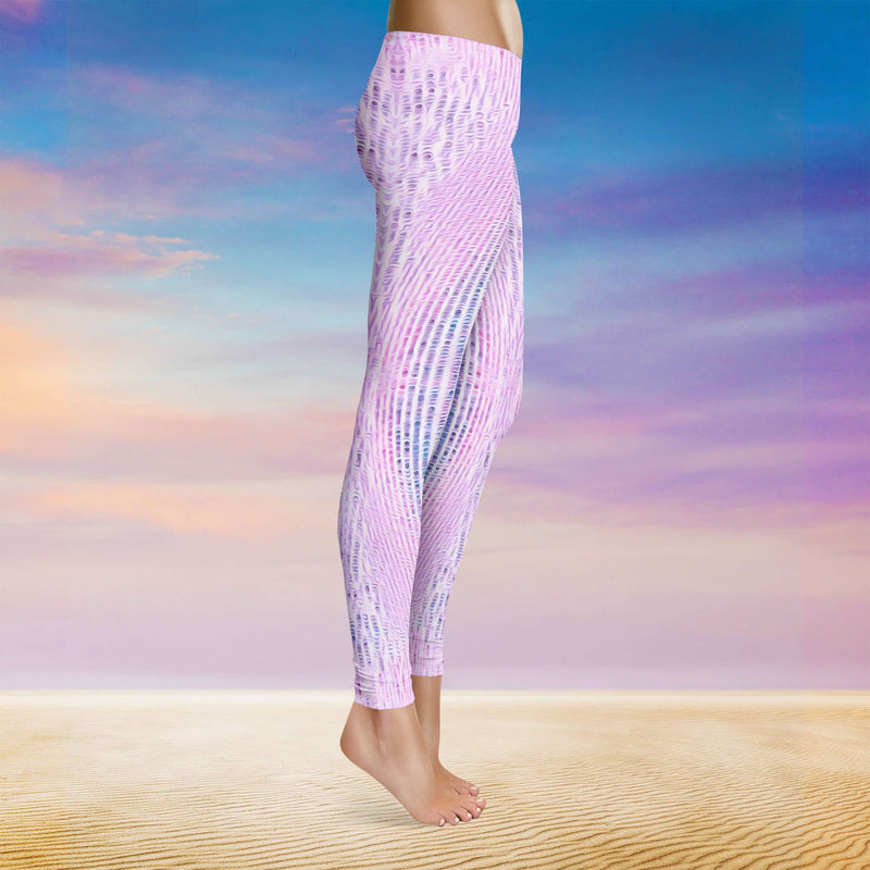 Spirit & Glitch:Technicolor Dreamcode Pink Leggings