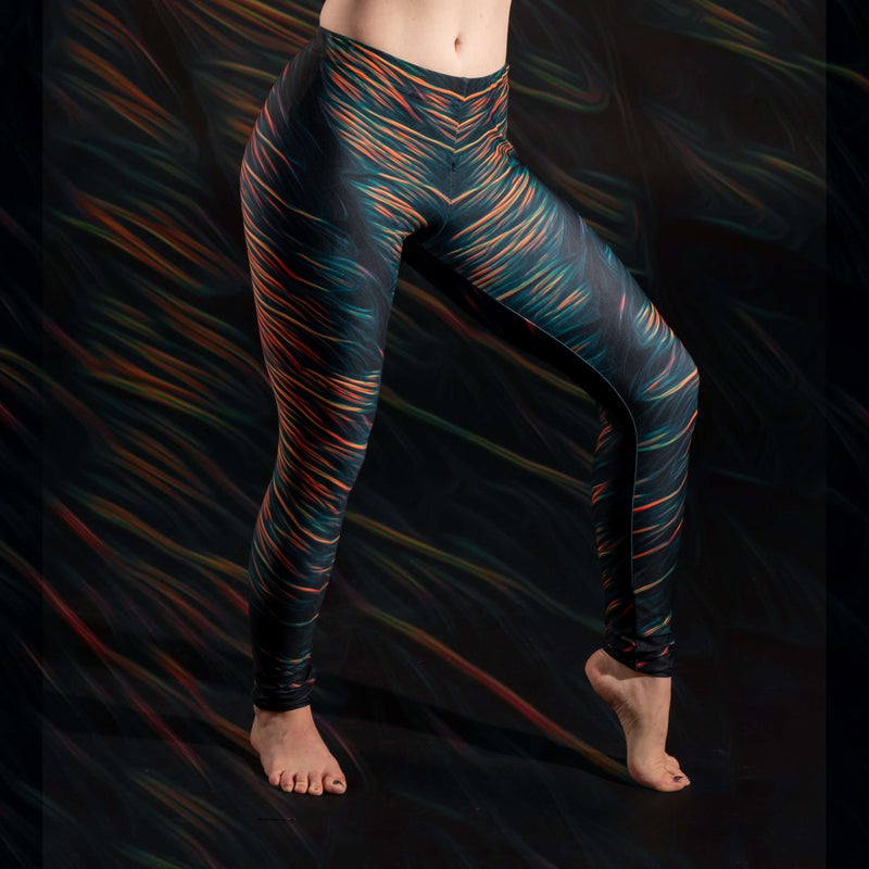 Spirit & Glitch:Liquid Midnight Leggings