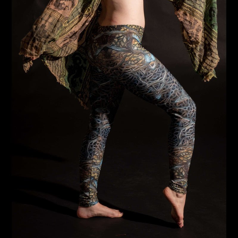 Forest Fractals Leggings