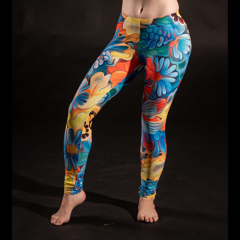 Flower Melt Leggings