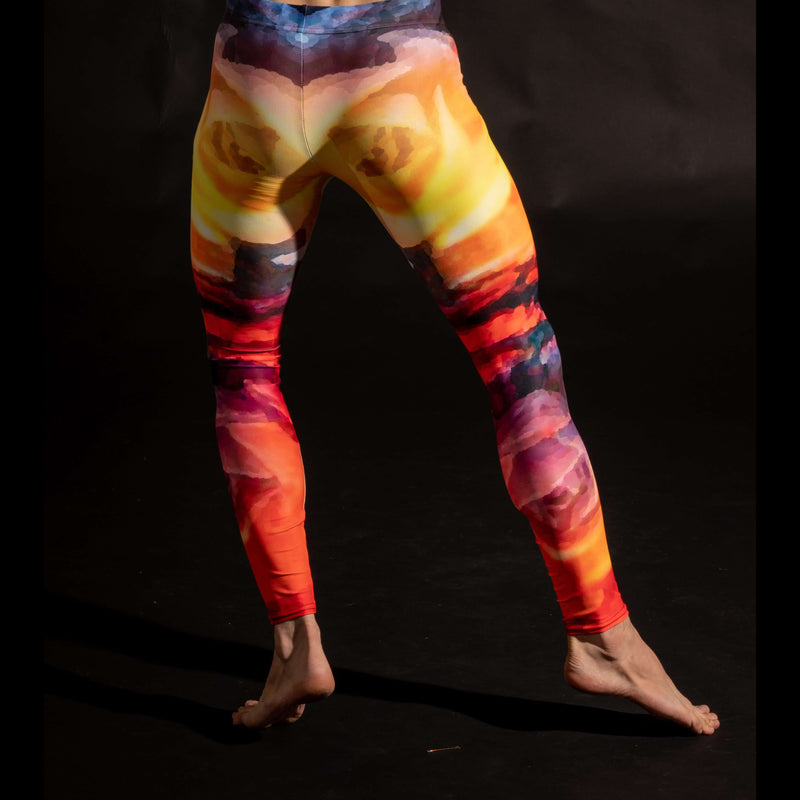 Lava Flowers Leggings