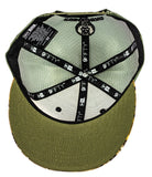 New Era Realtree RUSTYBOAR Olive Green Logo Trucker Hat