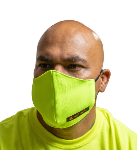 RUSTYBOAR Mask Safety Green