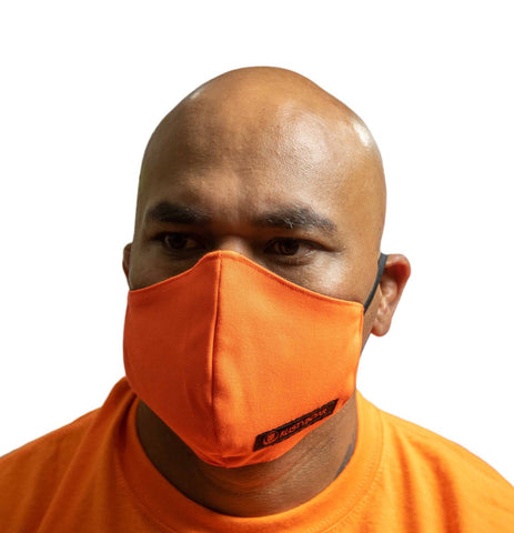 RUSTYBOAR Mask Safety Orange
