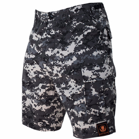 Urban Digital Camo Adjustable Shorts