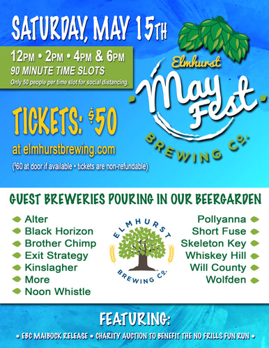 EBC First Annual Mayfest - 4PM-5:30PM Time Slot