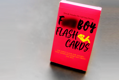 F. Boy Flash Cards (74 LEFT! FINAL RESTOCK!)