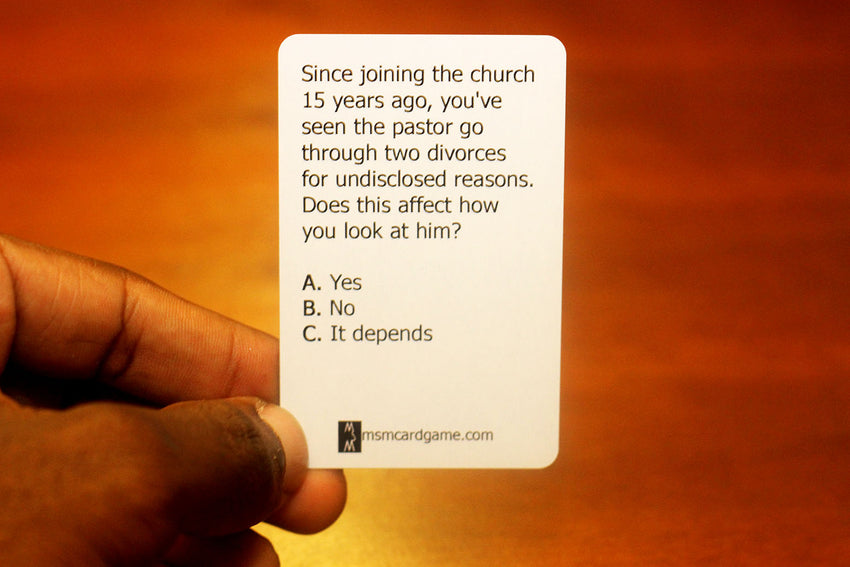 """GOD DON'T LIKE UGLY"" Playing Cards"