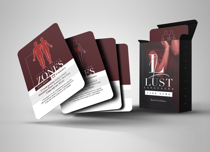 'Naughty & Nice' + LUST Languages Card Game Bundle' (FINAL RESTOCK!)