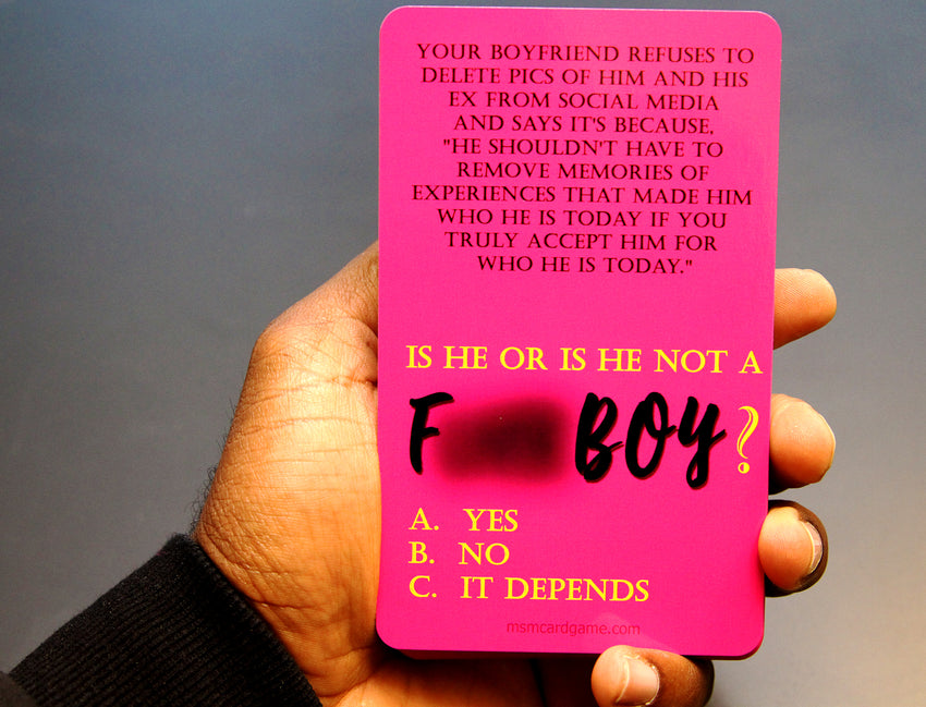 F. Boy Flash Cards (FINAL RESTOCK!)