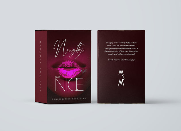 'Naughty & Nice Card Game