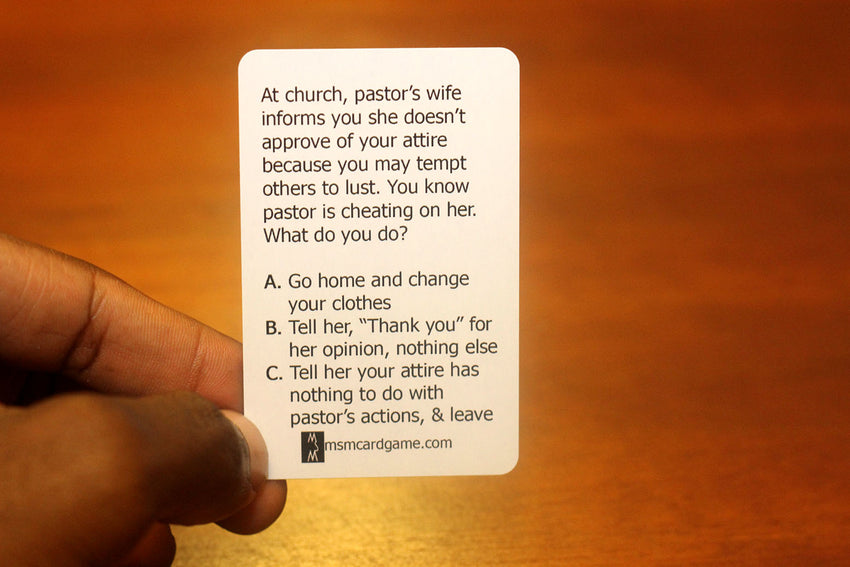 """GOD DON'T LIKE UGLY"" Cards"